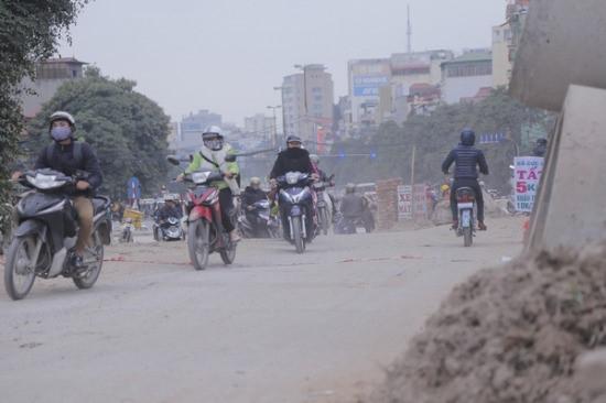 báo động chất lượng không khí rất có hại cho sức khoẻ  ở Hà Nội và TP.HCM. Ảnh minh hoạ
