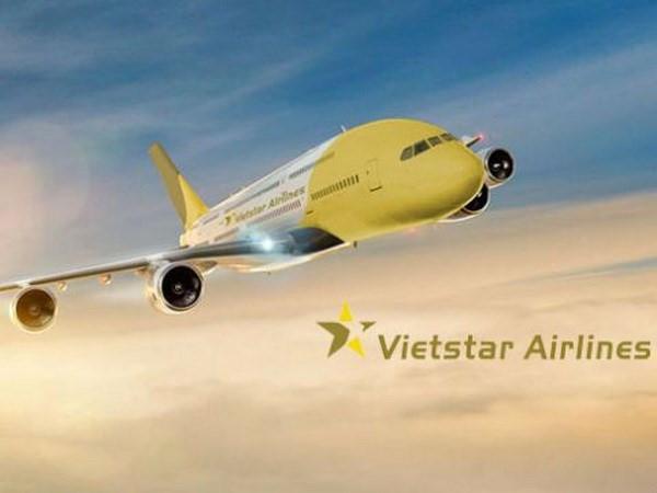 Vietstar Airlines, cái tên có khả năng trở thành hãng hàng không chở khách tiếp theo tham gia thị trường hàng không nội địa. Ảnh: Vietstar.