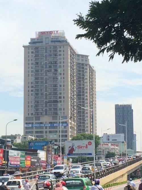 Chủ đầu tư dự án 88 Láng Hạ, Công ty TNHH Hanotex, tự ý xây dựng thêm 6 căn hộ tại tầng kỹ thuật và tầng mái (Ảnh Hồng Khanh).