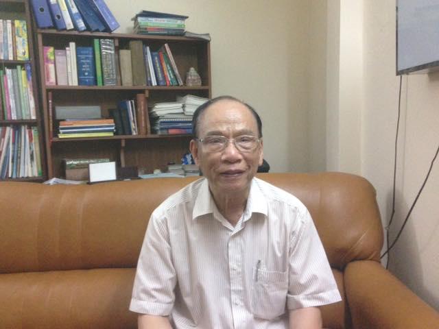 TS Đinh Quý Lan, Chủ tịch Hội khoa học gan mật Việt Nam.