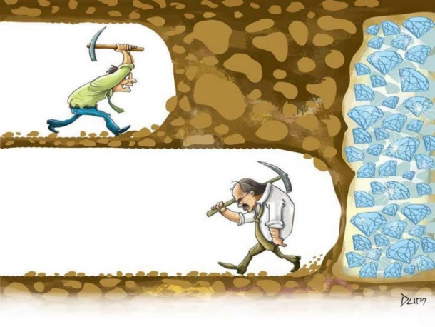 Nếu từ bỏ, bạn sẽ không bao giờ biết mình đã gần với mục tiêu như thế nào.