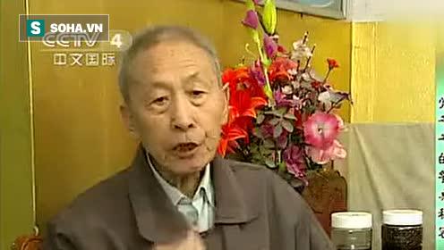 Hình ảnh ông Thường chia sẻ kinh nghiệm trên Truyền hình Trung Quốc.