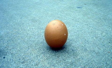 , Quả trứng này cũng giống như kinh tế Việt Nam - cần đập đi một vài phần nếu muốn đứng vững chắc