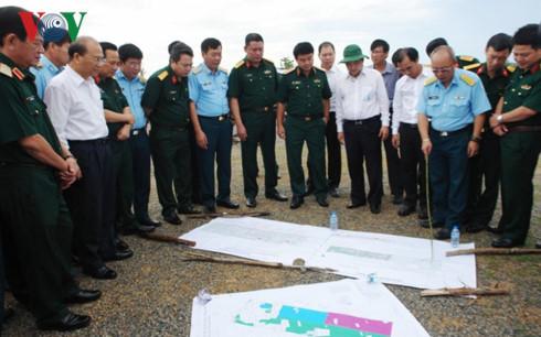 Dự án sân bay Phan Thiết có tổng diện tích 543 héc-ta nằm trên địa bàn xã Thiện Nghiệp.