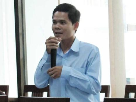 """Ông Phan Hoài Phong: """"Có đối tác Trung Quốc đặt mua bưởi… non thay vì bưởi chín"""". Ảnh: N.NAM"""
