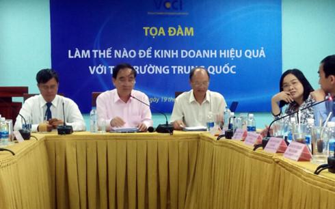Thông tin thị trường của Việt Nam và Trung Quốc còn rất thiếu, không đủ để doanh nghiệp tránh được rủi ro trong kinh doanh.