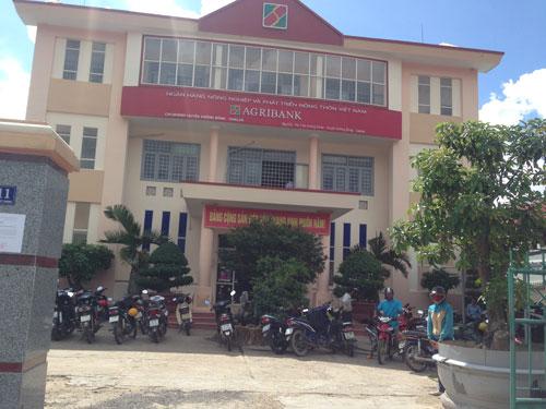 Trụ sở Argribank Chi nhánh huyện Krông Bông - nơi Chu Ngọc Hải làm cán bộ tín dụng
