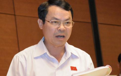 Ông Nguyễn Tiến Sinh - Đại biểu Quốc hội tỉnh Hòa Bình