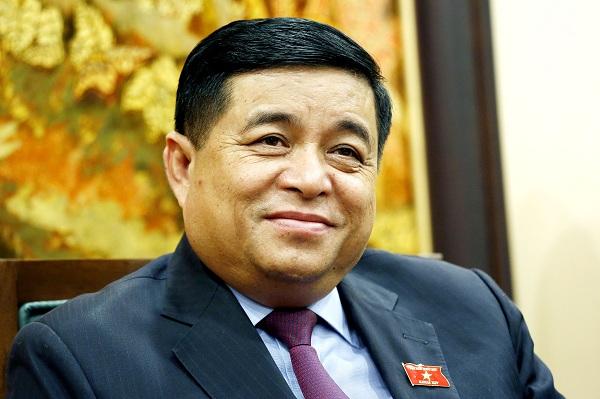 Bộ trưởng KH-ĐT Nguyễn Chí Dũng