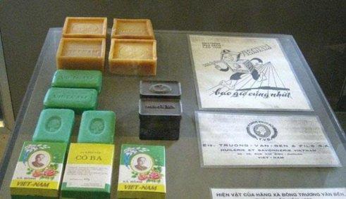 Xà bông Cô Ba và các sản phẩm của xà bông Việt Nam. (Ảnh tư liệu)