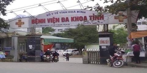 BVĐK tỉnh Hòa Bình - nơi xảy ra cái chết của 7 người nghi do sốc phản vệ khi chạy thận