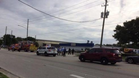 Vụ xả súng được cho là đã khiến nhiều người thiệt mạng. (Ảnh: Orlando Sentinel)