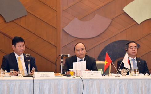 Thủ tướng Nguyễn Xuân Phúc trực tiếp giải đáp các thắc mắc mà doanh nghiệp Nhật Bản nêu ra.