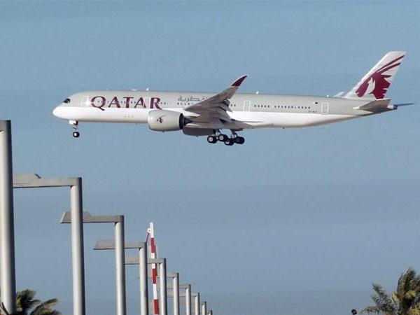 Máy bay của hãng hàng không Qatar Airways. (Nguồn: Reuters)