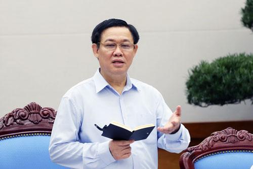 Phó Thủ tướng Vương Đình Huệ cho rằng phải sắp xếp, tinh gọn bộ máy quản lý gắn với tinh giản biên chế Ảnh: Nguyễn Nam