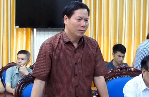 Giám đốc BV Đa khoa Hoà Bình Trương Quý Dương bị tạm đình chỉ công tác