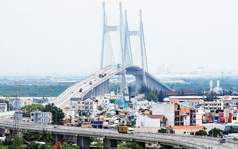 Dự án Cầu Phú Mỹ tại TP HCM. (Ảnh minh họa: KT)