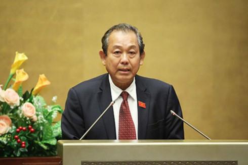 Phó Thủ tướng Chính phủ Trương Hoà Bình