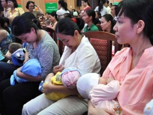 Mức trợ cấp thai sản tăng từ 1/7 (Ảnh minh hoạ: Internet)