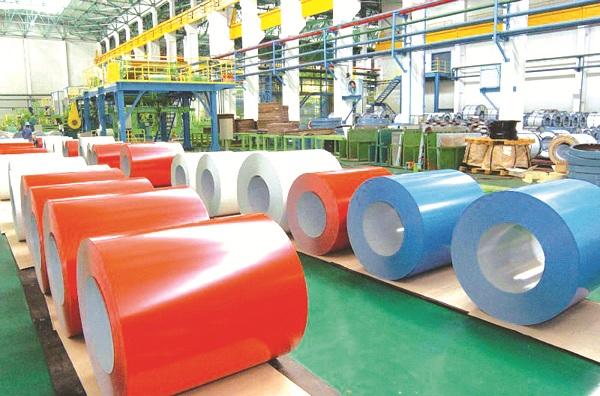 Sản phẩm tôn mạ màu chính thức được Bộ Công thương quyết định áp thuế tự vệ.