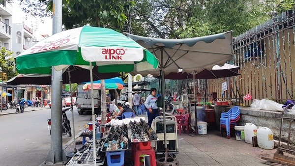 Giá cho thuê vỉa hè ở Sài Gòn sẽ được tính dựa trên giá đất của từng tuyến đường