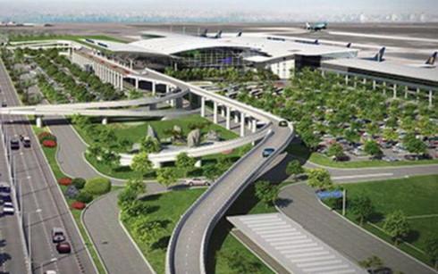 Phối cảnh sân bay Long Thành (Ảnh: KT)