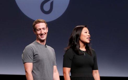 Vợ chồng ông chủ Facebook - Mark Zuckerberg và Priscilla Chan