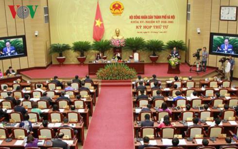 Kỳ họp thứ 4 HĐND thành phố khoá XV.
