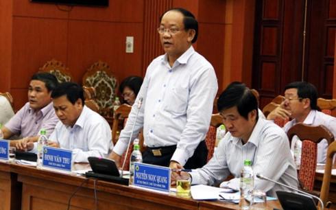 Ông Đinh Văn Thu - Chủ tịch UBND tỉnh Quảng Nam. (Ảnh: Internet)