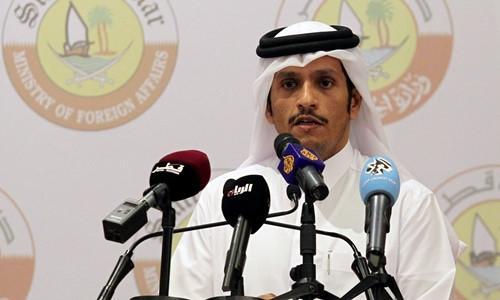 Ngoại trưởng Qatar Sheikh Mohammed bin Abdulrahman Al-Thani. Ảnh: Reuters