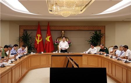 Cuộc họp sơ kết công việc 6 tháng đầu năm của Ban Chỉ đạo đổi mới và phát triển DN
