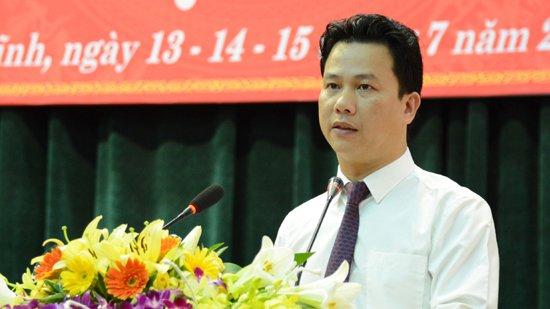 Chủ tịch UBND tỉnh Hà Tĩnh Đặng Quốc Khánh