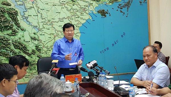 Phó Thủ tướng Trịnh Đình Dũng yêu cầu các địa phương rút kinh nghiệm sau bão số 2