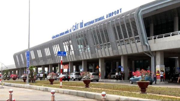 Sân bay Cát Bị dự kiến sẽ tiếp tục được đầu tư nâng cấp trong năm 2018