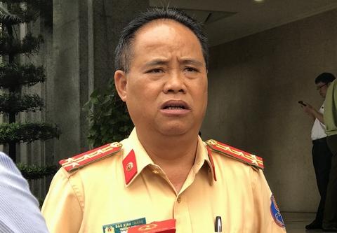 Đại tá Đào Vịnh Thắng - Trưởng phòng CSGT Công an Hà Nội.