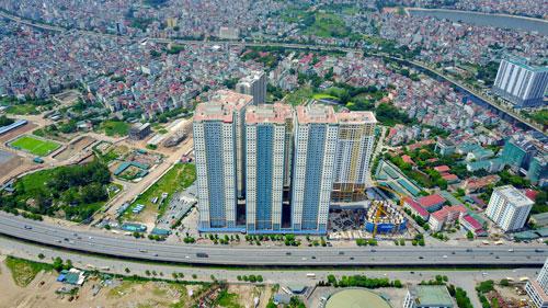 Dự án khu đô thị Kim Văn - Kim Lũ Ảnh: NGUYỄN HƯỞNG