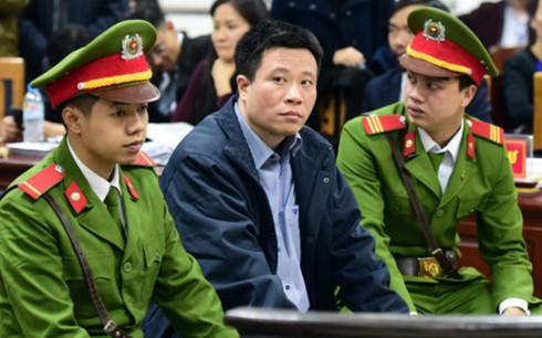 Hà Văn Thắm tại phiên tòa sơ thẩm đầu tháng 3/2017