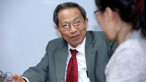 Thiếu tướng Lê Văn Cương, nguyên Viện trưởng Viện chiến lược, Bộ Công an. Ảnh: Lê Anh Dũng