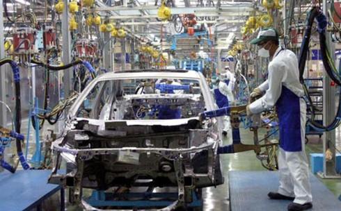 Doanh nghiệp sản xuất, lắp ráp ô tô trong nước sẽ có nhiều cơ hội được chuyển giao công nghệ mới từ Nhật Bản. (Ảnh minh họa: KT)