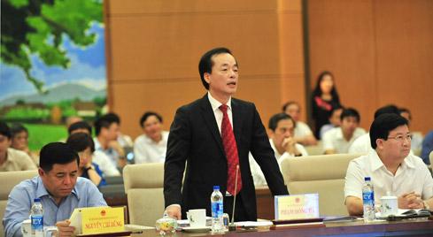 Bộ trưởng Bộ Xây dựng Phạm Hồng Hà. Ảnh: VGP