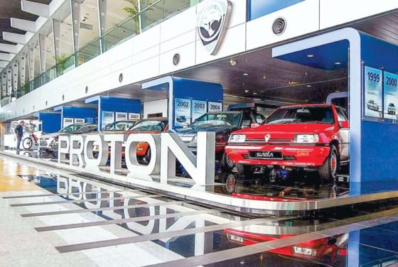 Proton là niềm tự hào ngành công nghiệp ô tô của Malaysia.
