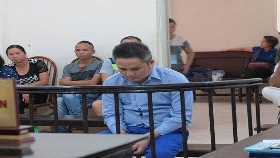 Bị cáo Trường tại phiên tòa xét xử