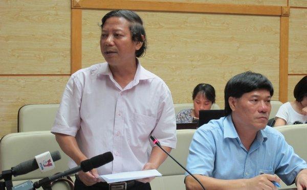 Phó Giám đốc Sở Y tế Hà Nội Hoàng Đức Hạnh