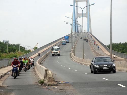 Cầu Phú Mỹ - 1 trong 6 dự án bị thanh tra (ảnh: Tấn Thạnh)