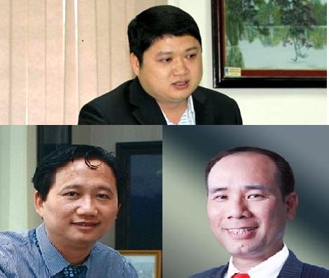 Vũ Đình Duy, Trịnh Xuân Thanh, Vũ Đức Thuận... là những nhân vật bị khởi tố