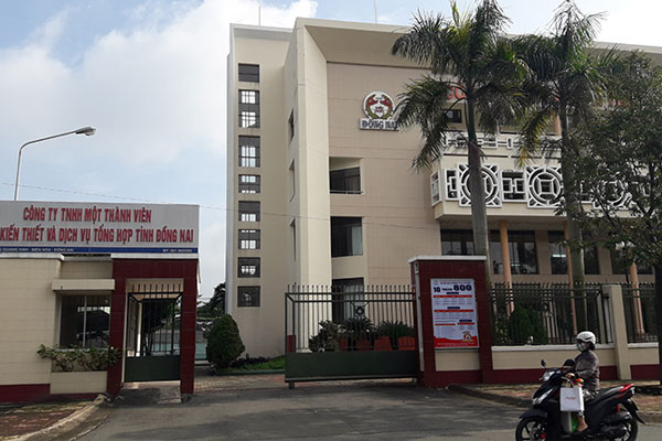Trụ sở công ty Xổ số kiến thiết Đồng Nai.