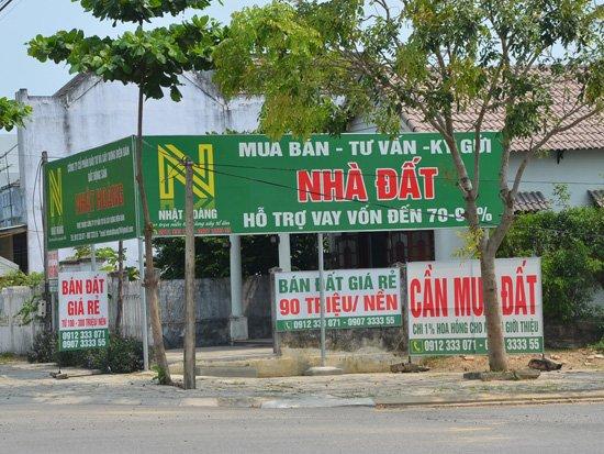 Đất nền giá bèo được rao bán tại khu vực phía Bắc Quảng Nam và Nam Đà Nẵng.