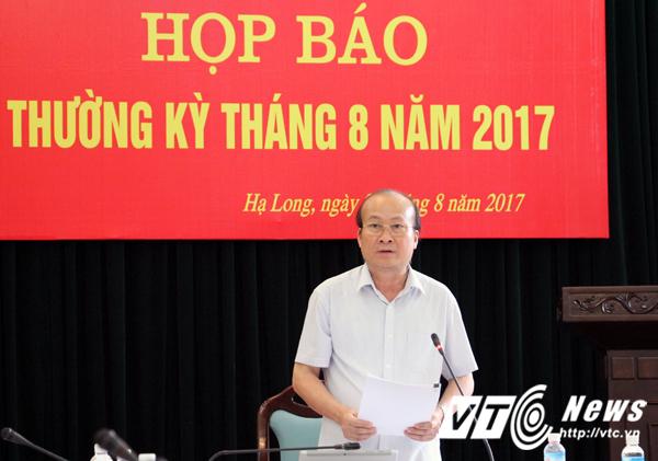 Ông Vũ Văn Hợp – Chánh văn phòng kiêm Người phát ngôn UBND tỉnh Quảng Ninh