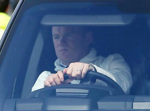 Rooney lái xe trong tình trạng say rượu. (Nguồn: PA)