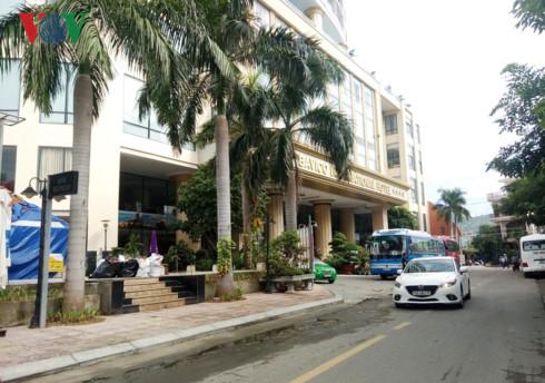 Khách sạn Bavico Nha Trang là một trong số 14 cơ sở lưu trú vừa bị xử phạt do vi phạm PCCC.